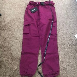 PrettyLittleThing Violet Joggers